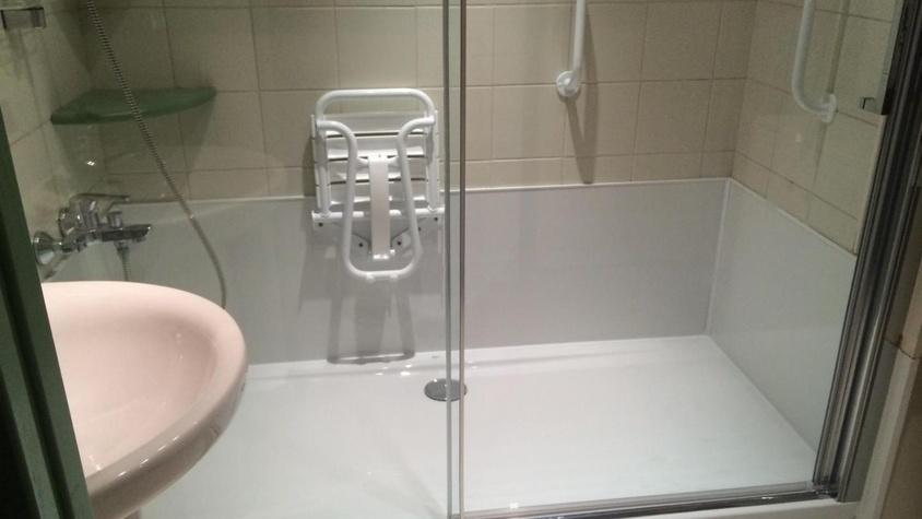 Aménagement de douche